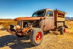 Roadside Attraction (KPortin) Tags: truck htt desert