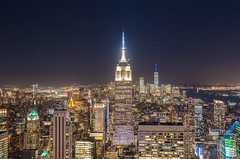 New York by night (kareszzz) Tags: topoftherockobservationdeck topoftherock observationdeck newyork ny nyc us usa night evening longexposure canon6d ef24105 landscape cityscape citylights skyscrapers summer 2018 june manhattan