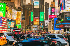 NYC: Times Square, the Intensity of Density (DrSamJ.Bk.NyC) Tags: shockofthenew