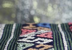 Lu weaving. (natureflower) Tags: lu ethnic group cotton handmade natural dye weaving