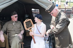 Time for tennis anyone!. (Adrian Walker.) Tags: elements gcr tennis wwii reenactments canon tamron18270 80d usarmy soilders 1940s