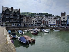 Dartmouth (ancientlives) Tags: dartmouth devon england uk europe moorings boats dinghies sailing architecture history town navy college walking sunday june 2018 spring