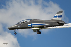 A56A9677@L6 (Logan-26) Tags: british aerospace hawk 51a hw352 cn 3124014085f002 finland air force tartu estonian aviation museum estonia days 2018 aleksandrs čubikins military airshow