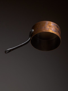 Floating Copper Pan