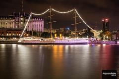 Fragata en Puerto Madero (.Alejandro Rubio.) Tags: ship barco alerubio puertomadero buenosaires argentina largaexposicion longexpo