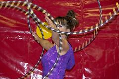 one eyed girl (Mark Rigler -) Tags: girl woman circus hoop performer