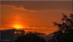 sunrise (friedrichfrank1966) Tags: sonnenaufgang sunrise silhouettes shadowssun morning scenery black clouds wolken may art nature nikon d90 zoom tele yellow rahmen filter