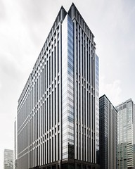 One of the office buildings in Nihonbashi, Tokyo (MANFRED SODIA photography) Tags: architecturelovers architectureporn streetview architecture officebuilding japan tokyo nihonbashi