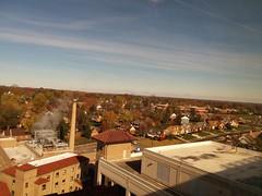 11-10-17 Dayton 06 fall color (Chicagoan in Ohio) Tags: dayton clouds sun sunhalo leaves fallcolor