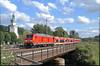 DB 245 037... (Niklas Bohn) Tags: db regio baureihe 245 überführung 650 629 kirchenblick zug train markt oberkotzau oberfranken bayern deutschland