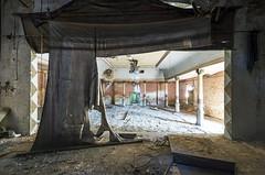 on stage (Dawid Rajtak) Tags: decay abandoned ballroom ballhouse urbex lost old rotten verlassen opuszczone zgnilizna onstage exploring exploration nikon photo
