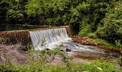 Slap na Krčiću poviše napuštene mlinice (MountMan Photo) Tags: rijeka rijekakrčić šibenskokninskažupanija landscape slap waterfall voda water croatia