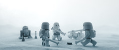 i'd hit that (jooka5000) Tags: lego starwars photo snow hoth icehockey snowtroopers playing puck deathstar droid goalkeeper onedown photography legography cinematic continuation fun cool ice cold empire strikes back