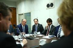 29/05/18 - Reunião da Bancada do PSDB com Geraldo Alckmin