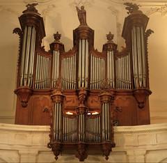 Où ai-je photographié ces orgues ? Dans l'église Saint-Sauveur à La Rochelle (Sokleine) Tags: orgue orgues organ église church saintsauveur larochelle 17 charentemaritime poitoucharente nouvelleaquitaine france heritage mn