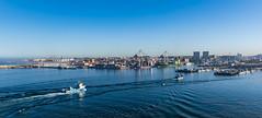 Morning at the port / Утро в порту (dmilokt) Tags: море порт корабль пейзаж sea port landscape ship панорама panorama