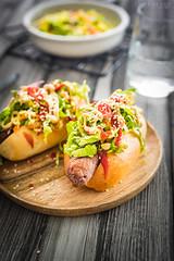 homemade vegetarian hot dogs (Malgosia Osmykolorteczy.pl) Tags: food foodie foodphoto foodstyling fotografia foodporn foodphotography foodstylist feed
