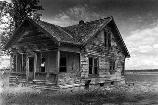 Abandoned Oregon Farm House