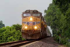 UP 5813 (CC 8039) Tags: up gecx trains ac44cw c408w mitchell illinois