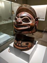 Tlingit Sculpture (koukat) Tags: madrid museum america museo travel viaje sur south espana spain