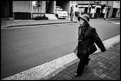 Misuji, Taitō-ku, Tōkyō-to (GioMagPhotographer) Tags: tōkyōto peoplesingle old taitōku eastofthesun misuji streetscene japanproject japan leicamonochrom tait taitku tokyo tkyto taitō