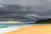 Winter Beach Scene with Headland (Merrillie) Tags: daybreak wamberalbeach sand sunrise sea centralcoast nature water morning surf overcast wamberal weather newsouthwales waves earlymorning nsw australia beach ocean landscape waterscape sky coastal clouds outdoors seascape dawn coast cloudy seaside