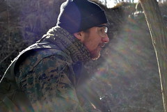 Saint or devil (Babushka_Marcelina) Tags: military asg airsoft people