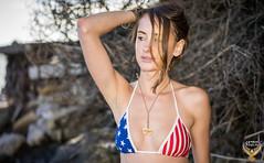 American Flag Swimsuit Bikini Model Goddess! Happy 4th of July Bikini Surf Girl! Stars & Stripes Forever Swimsuit Model! Red, White, & Blue USA Flag Swimsuit Model on Malibu Beach! (45SURF Hero's Odyssey Mythology Landscapes & Godde) Tags: white red blue bikini model american flag flags bikinis 4th july fourth