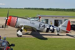 G-THUN Sywell 11-06-18 (IanL2) Tags: republic thunderbolt p47 gthun sywell aerodrome warbird northamptonshire