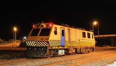 IEV100 spends the night in Horsham yard before heading to Rainbow in the morning (bukk05) Tags: iev100 wimmera westernstandardgaugeline explore export engine railway railroad railpage rp3 rail railwaystation railwaystations ruralcityofhorsham 2018 train tracks tamron tamron16300 trains yard photograph photo loco locomotive light horsepower hp horsham em100 rainbow flickr diesel station standardgauge sg sky australia artc autumn canon60d canon timeexposure victoria vr victorianrailway vline victorianrailways mainline metro metroevaluation