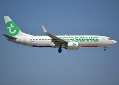 F-GZHE, Boeing 737-8K2(WL), 29678-2615, TO-TVF-FranceSoleil-Transavia France, ORY/LFPO 2018-05-11, short finals to runway 06/24 (alaindurandpatrick) Tags: fgzhe 296782615 737 738 737800 737nextgen boeing boeing737 boeing737800 boeing737nextgen jetliners airliners to tvf francesoleil transavia transaviafrance airlines ory lfpo parisorly airports aviationphotography