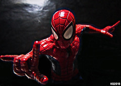 FRIENDLY NEIGHBORHOOD (THE AMAZING KIKEMAN) Tags: marvel superheroes daredevil spiderman peter parker matt murdock bust comics