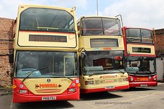 Maghull coaches. (anthonymurphy5) Tags: maghullcoaches travel transport buspictures busgarage busspotting bus outside scania trident optare