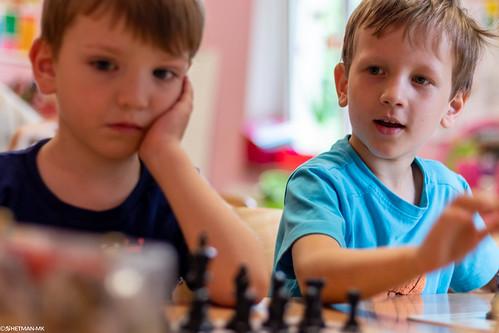 VIII Turniej Szachowy o Mistrzostwo Przedszkola Europejska Akademia Dziecka-4