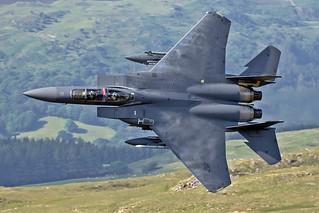 USAF F-15E, '318', LFA7, June 2018