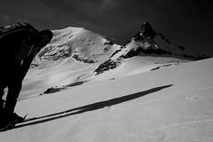 the other virgin (Max D. Machy) Tags: lavierge hautglacierdarolla matterhornarea switzerland spring snowshoes haut glacier arolla herens