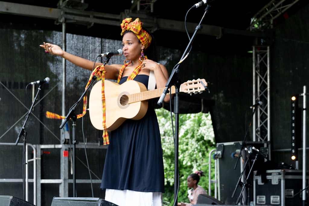 INES KHAI FROM GUADELOUPE [AFRICA DAY 2018 IN DUBLIN]-140498