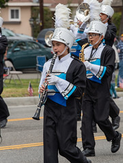 North Torrance High School Saxons (mark6mauno) Tags: clarinet north torrance high school saxons band 59thannualtorrancearmedforcesdayparade 59th annual armed forces day parade 2018 nikkor 70200mmf28evrfled nikon nikond810 d810