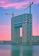 PONTSTEIGER • AMSTERDAM (bert • bakker) Tags: pontsteiger amsterdam nederland thenetherlands nikon85mm18g architectuur architecture