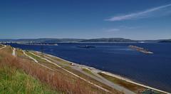 Layered embankment III (МирославСтаменов) Tags: russia togliatti volga embankment slope river cirrus sky overlook