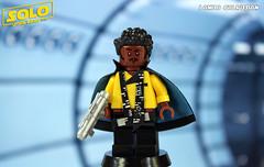 Custom LEGO Solo: Lando Calrissian (LegoMatic9) Tags: custom lego solo a star wars story lando calrissian minifigure donald glover