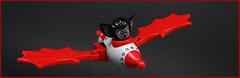 Spaaaaace Baaaaat! (Karf Oohlu) Tags: lego moc bat rocketship spaceship silly spacebat