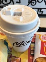 コーヒー (96neko) Tags: snapdish iphone 7 food recipe mcdonaldsマクドナルド高田馬場駅前店
