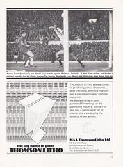 Scotland vs Bulgaria - 1978 - Page 13 (The Sky Strikers) Tags: scotland bulgaria european international match friendly sfa hampden park programme 20p