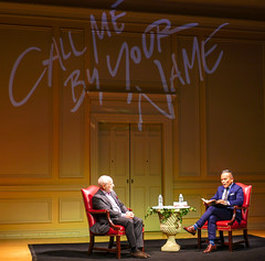 2018.06.06 Library of Congress Mythology Tour, Conversation with Andre Aciman, Washington, DC USA 02838