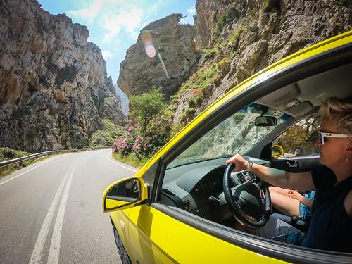 Driving crete