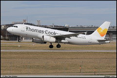 "AIRBUS A320 233 ""Thomas Cook"" LY-VEL 1998 Stuttgart avril 2018 (paulschaller67) Tags: airbus a320 233 thomascook lyvel 1998 stuttgart avril 2018"