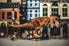 Hey!!! That's mine!!!! (3rd-Rate Photography) Tags: tyrannosaurus lego skateboard jurassicpark jurassicworld city minifig minifigure skateboarder toy toyphotography canon 50mm 5dmarkiii jacksonville florida 3rdratephotography earlware 365 trex dinosaur