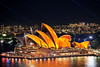 Orange Opera || VIVID SYDNEY || AUSTRALIA (rhyspope) Tags: australia aussie nsw new south wales sydney vivid vividsydney vivid2018 2018 rhys pope rhyspope canon 5d mkii night color colour light festival opera house operahouse sydneyoperahouse water reflection laser city travel awesome amazing circular quay circularquay therocks