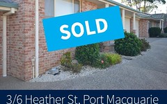 3/6 Heather Street, Port Macquarie NSW